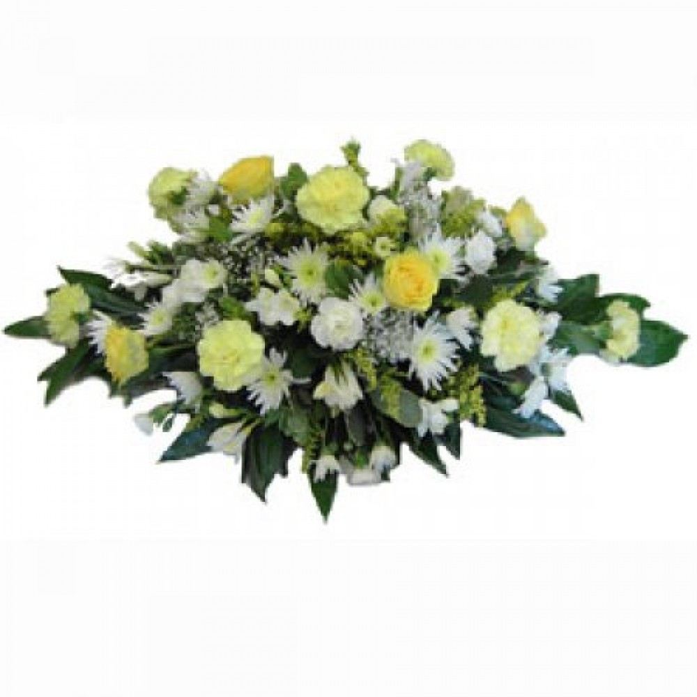 Funeral Spray Lemons Flowers And Favours